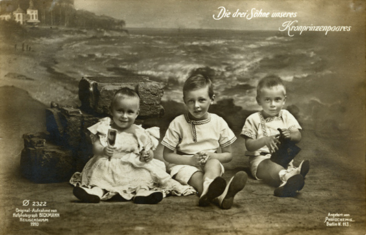(Adolph) Beckmann; Postkarte, 1910