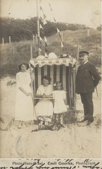 Emil Goerke; Foto-Postkarte, 1912 gelaufen