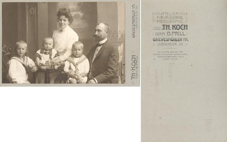 Th. Koch; Visitformat; vormals B. Prill
