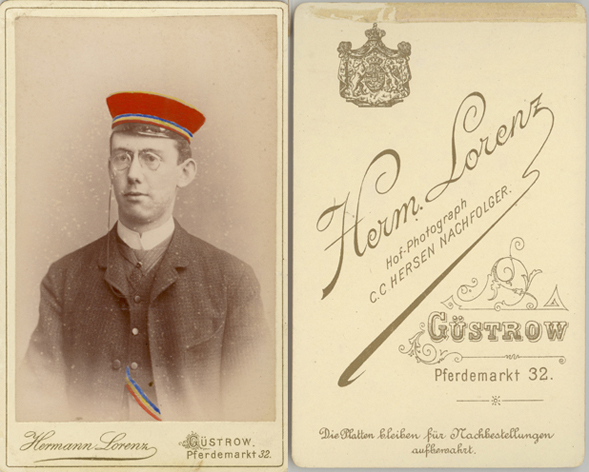 Hermann Lorenz; Visitformat