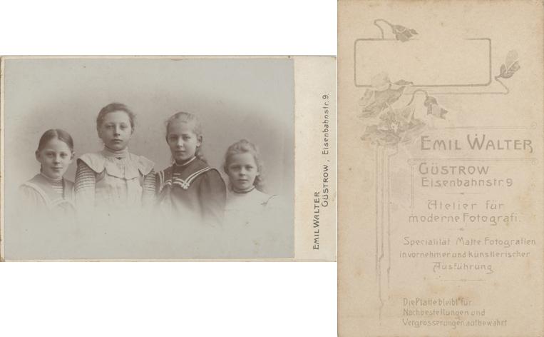 Emil Walter; Visitformat