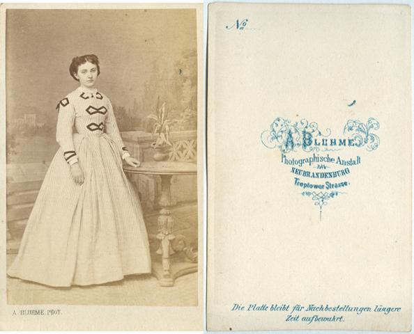 A. Bluhme; Visitformat