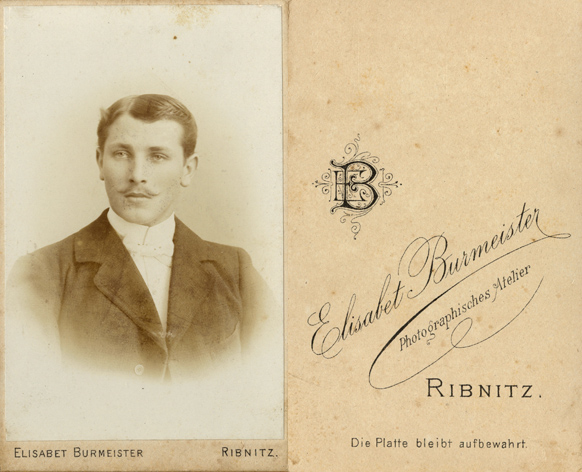 Elisabet Burmeister. Visitformat