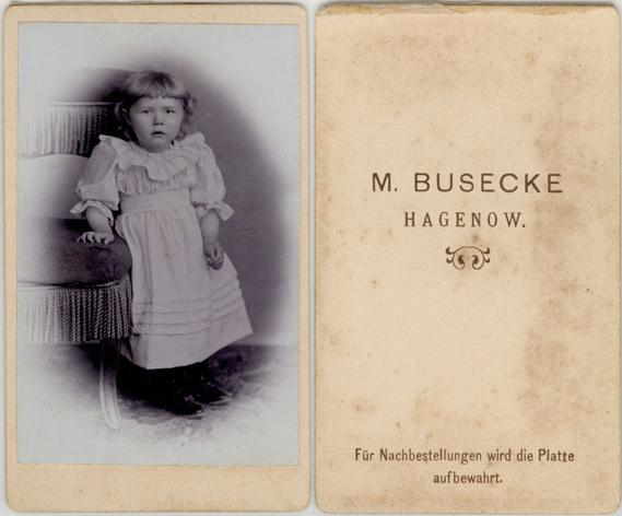 M. Busecke; Visitformat