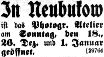 Rostocker Anzeiger, 16.12.1904