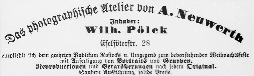 Rostocker Zeitung, 29.11.1889