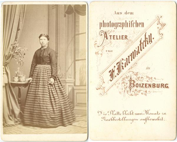 F. Karwatcky; Visitformat
