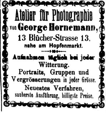 Rostocker Zeitung, 21.11.1885