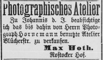 Rostocker Zeitung, 13.05.1894