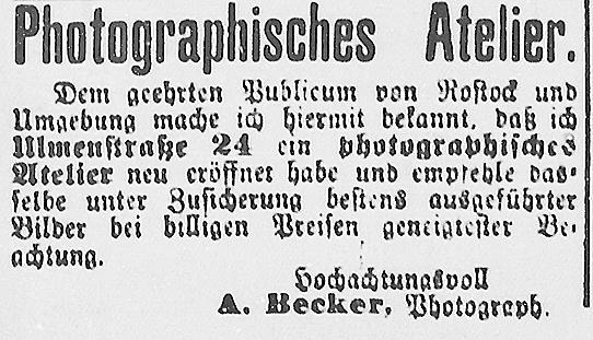 Rostocker Anzeiger, 22.08.1893