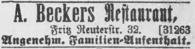Rostocker Anzeiger, 27.03.1904