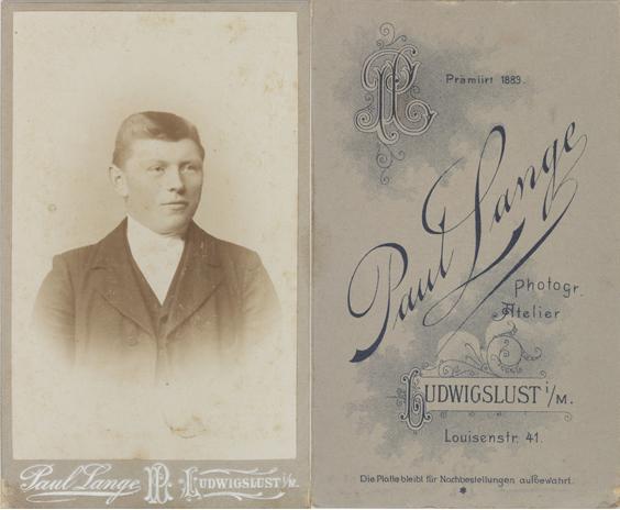 Paul Lange, Visitformat