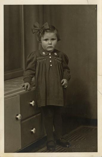 Otto Hauck. Prägung unten rechts, Fotopostkarte