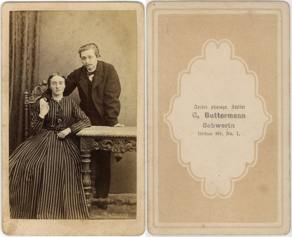 C. Buttermann. Visitformat