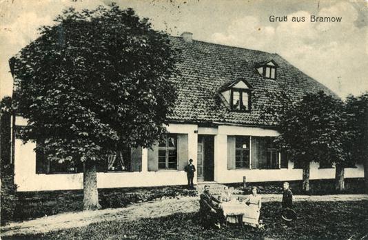 Ansichtskarte, rückseitiger Namensaufdruck, 1920 gelaufen