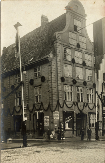 Ansichtskarte, rückseitiger Aufdruck: Photograph Friedrich Kloerss, Rostock