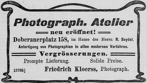Rostocker Anzeiger, 30.10.1904