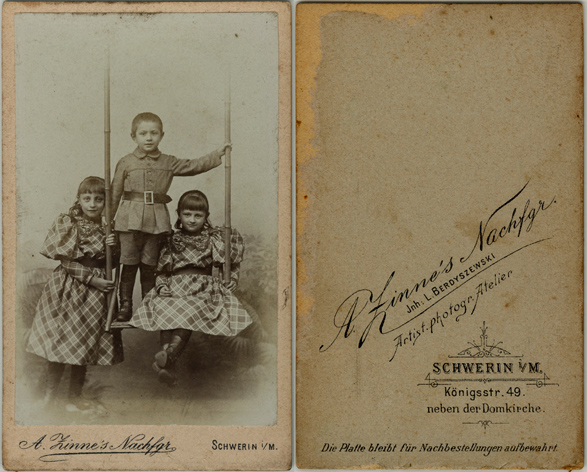 L. Berdyszewski, A, Zinne´s Nachfgr.; Visitformat