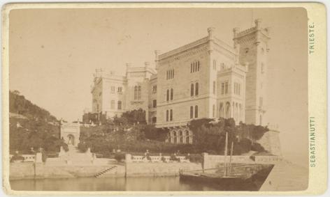 Sebastianutti, Trieste, spätestens 1874; Visitformat