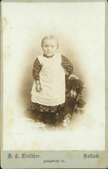 Richard, 1894/95. Fotograf: B. C. Fleischer