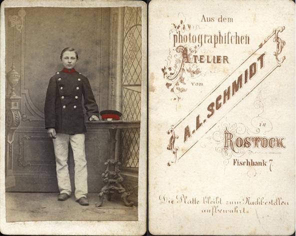 wohl Heinrich Gribnitz, ca. 1870. Fotograf: A.L. Schmidt