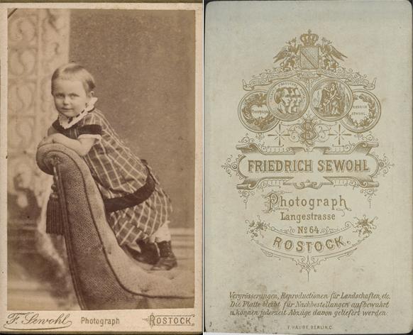 Johanna, 1887. Fotograf: Friedrich Sewohl