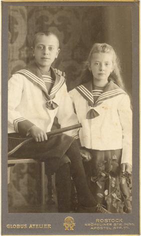 Richard und Erna, um 1905. Globus Atelier