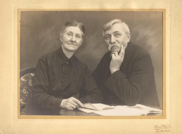 Anna und Heinrich Gribnitz. Fotograf: Hans Vogel, Mönchengladbach