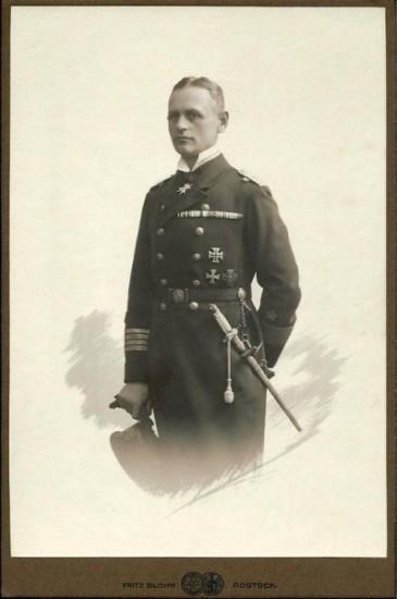 Karl-August Nerger; Kabinettformat. © Sammlung Lüthje