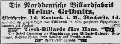 Rostocker Anzeiger, 29.09.1903