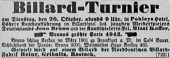 Rostocker Anzeiger, 18.10.1903