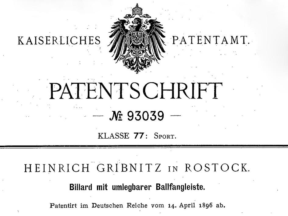 patent-Kopie
