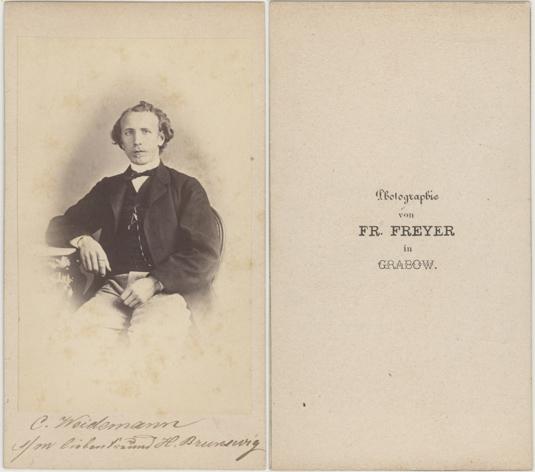 Fr. Freyer; Visitformat