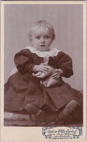 Otto Ertel, vorm. Aug. Schmidt; Visitformat; Rückseite blanko