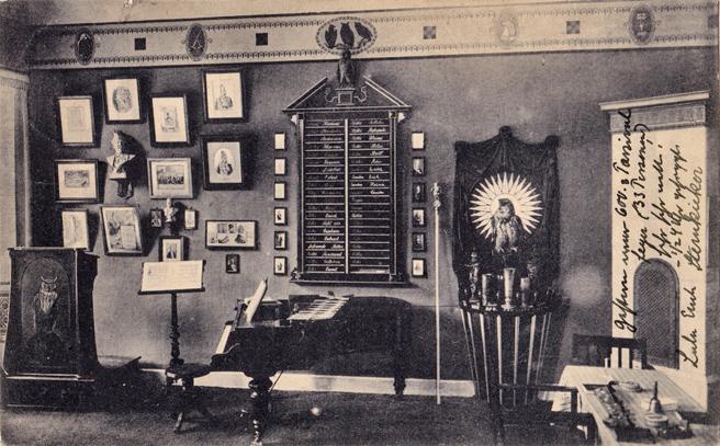 Aufnahme: Fritz Blohm´; 1919 gelaufen