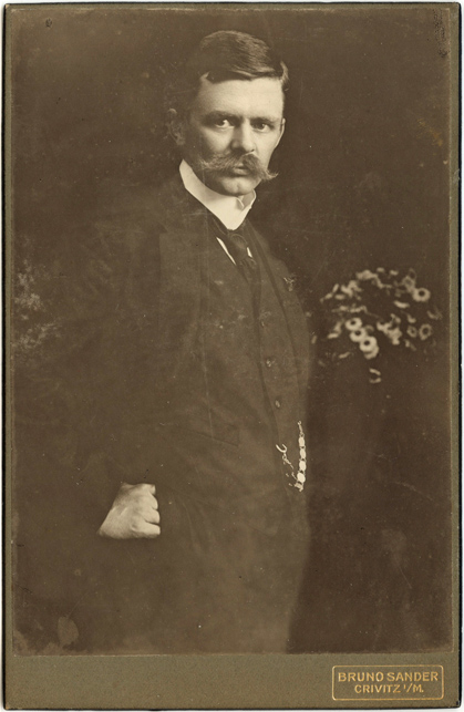 Bruno Sander. Kabinettformat