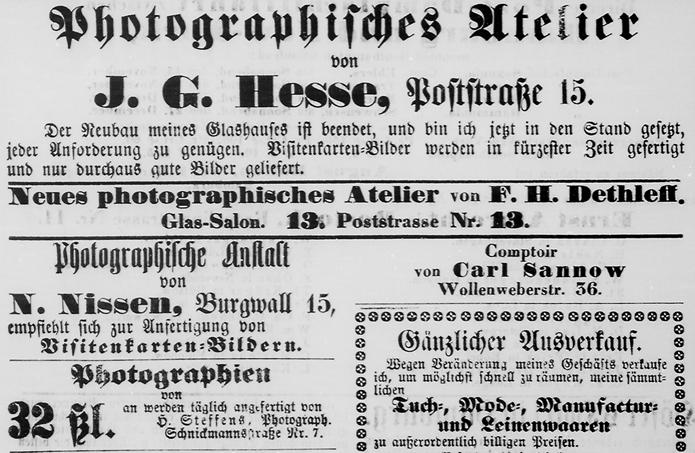 Rostocker Zeitung, 09.11.1862