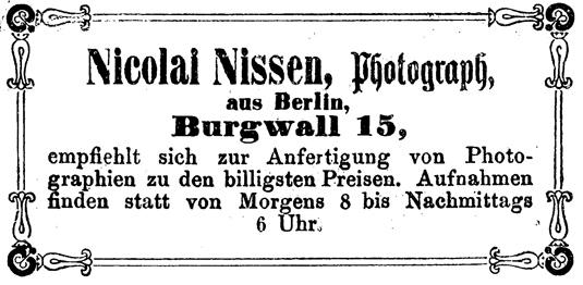 Rostocker Zeitung, 12.04.1863