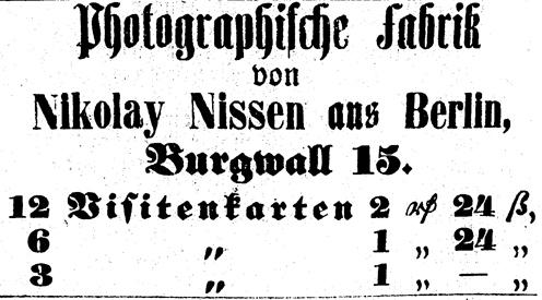 Rostocker Zeitung, 22.04.1863