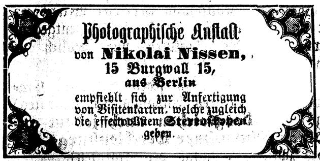 Rostocker Zeitung, 15.03.1863