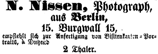 Rostocker Zeitung, 17.05.1863