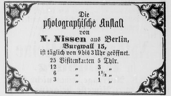 Rostocker Zeitung, 18.01.1863