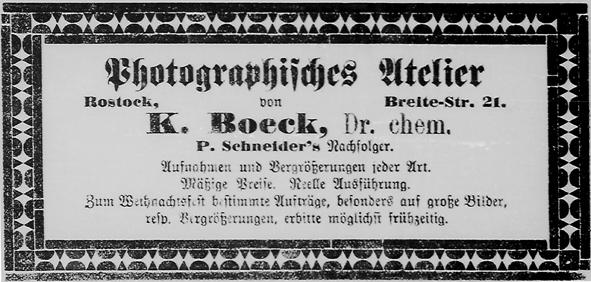 Rostocker Anzeiger, 24.11.1889