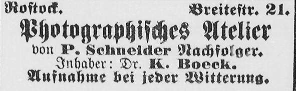 Rostocker Zeitung, 02.10.1888