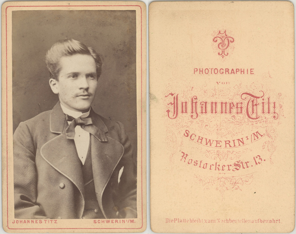 Johannes Titz. Visitformat