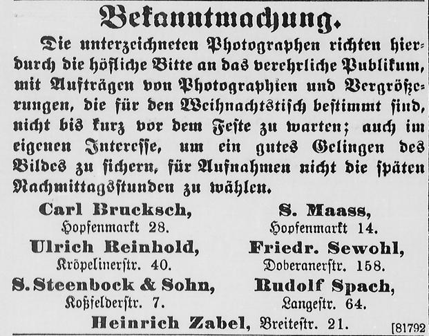 Rostocker Anzeiger, 13.11.1903