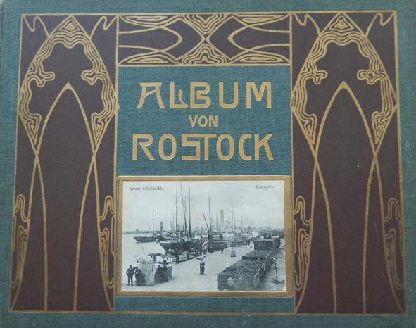 Album von Rostock. Titelseite. Globus Verlag Berlin