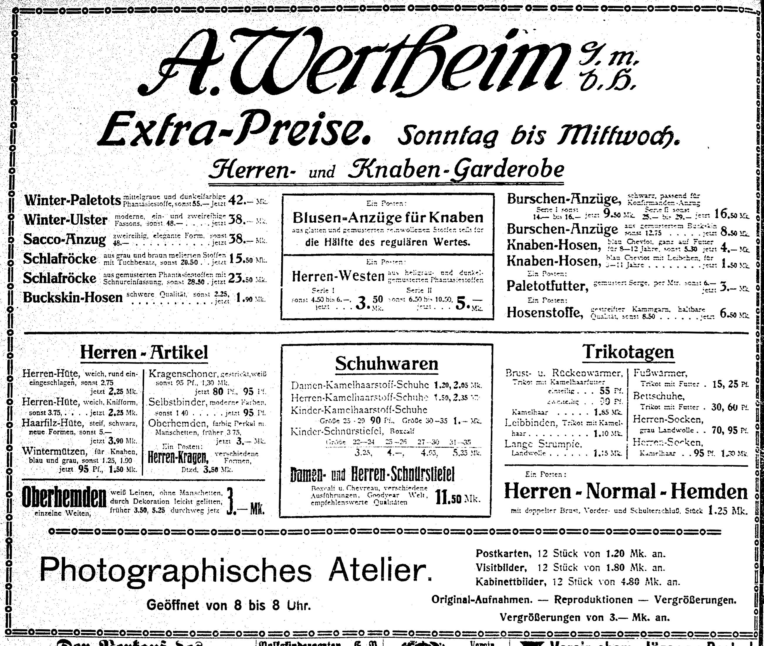 Rostocker Anzeiger, 27.11.1910