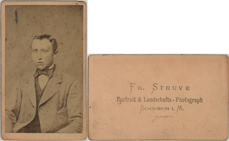 Friedrich Struve. Visitformat. siehe auch Teterow