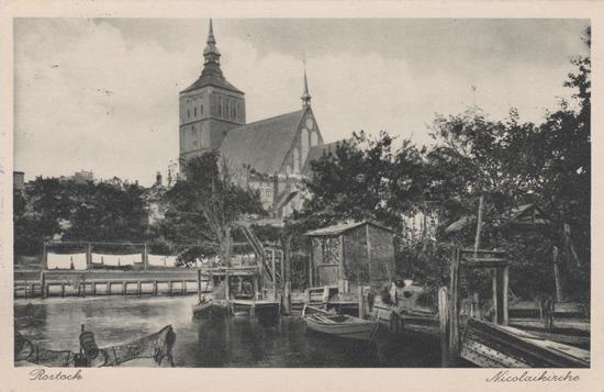 Nikolaikirche. 1930 gelaufen